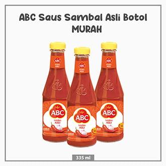 ABC Saus Sambal Asli Botol