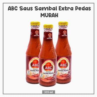 ABC Saus Sambal Extra Pedas Botol