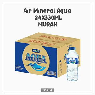 Air Mineral Aqua 24X330ML