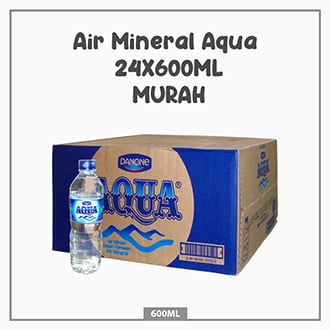 Air Mineral Aqua 24X600ML