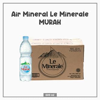 Air Mineral Le Minerale 600ml