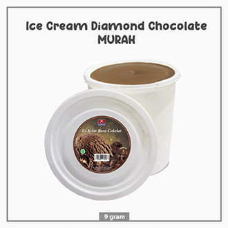 Ice Cream Diamond Chocolate