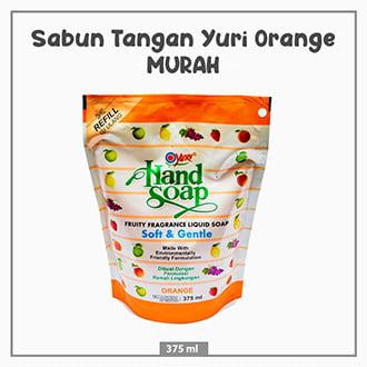 Sabun Tangan Yuri Orange 375 ml
