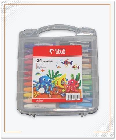 Crayon Merk Titi, 24 Color