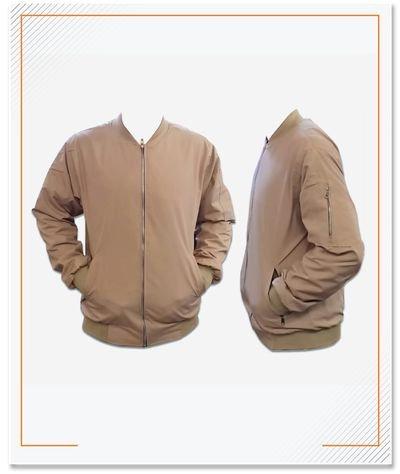 Jacket Bomber, Material Tasland