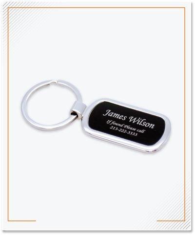 Keychain Etching