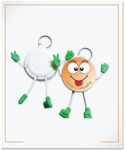 Keychain Pin Boneka