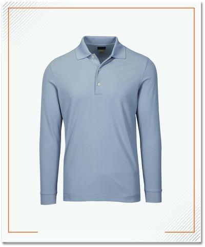 Polo Shirt Lengan Panjang, Material Lacoste Premium