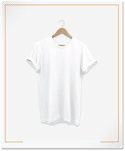 T-shirt Lengan Pendek, Material Cotton Combad