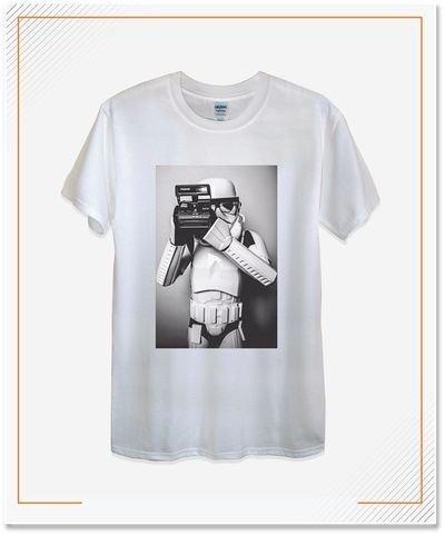 T-shirt Lengan Pendek, Material TC (Semi Katun)
