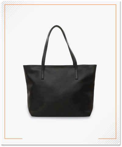 Tote Bag, Material Zipper