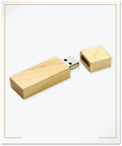 Flashdisk USB Kayu 8 Gb