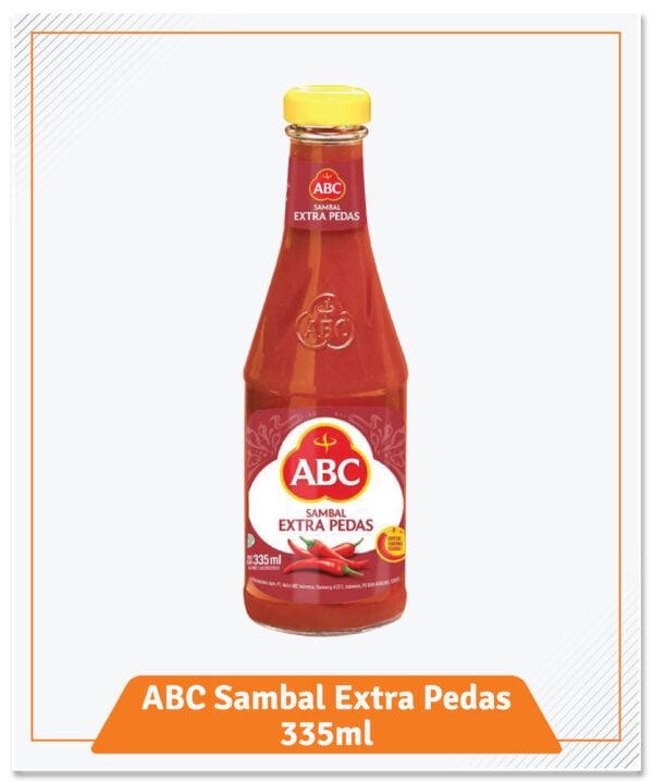 37.ABC Saus Sambal Asli Botol 335ml Extra Pedas-01