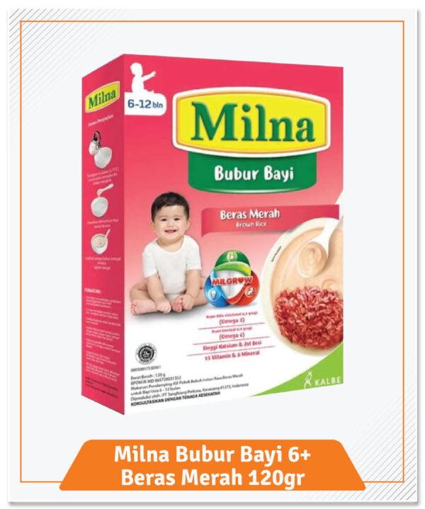 39.Bubur Bayi Milna 6 Plus Beras Merah 120gr-01